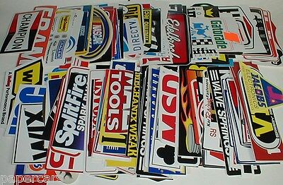 42 FULL SIZE Grab bag Nascar STP Pro drag Racing decals tool box New stickers