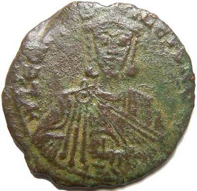"Leo VI The Wise Follis "" Legend in lines """
