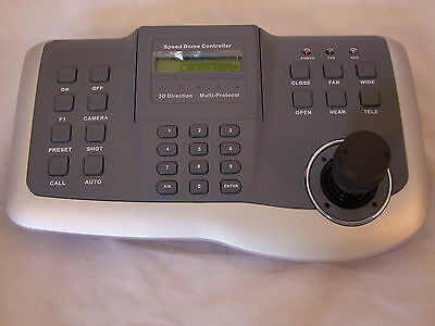 New US-K802,Speed Dome Control Keyboard For PTZ Camera Pelco D/P Protocol