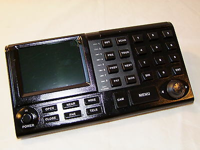 New US-K881,Speed Dome Control Keyboard For PTZ Camera Pelco D/P Protocol