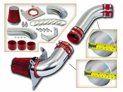 BCP RED 1989-1993 Ford Mustang 5.0L V8 Cold Air Intake Kit