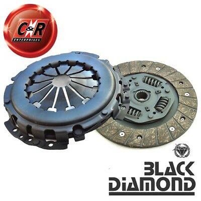 VW Golf Mk2 1.6 TD (Heavy Duty Version) Black Diamond Stage 1 Organic Clutch