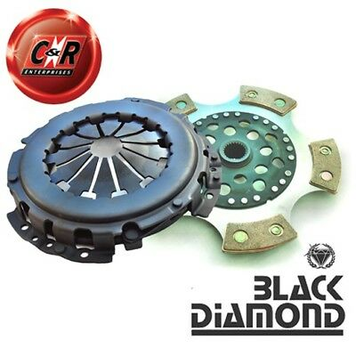 VW Polo Mk2 1.0L Chassis G023469. To Engine 456000 Black Diamond Stage 3 Clutch