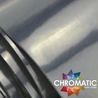 Chrome Silver Wrap 152 x 30cm - Bubble Free Car & Bike Wrapping Vinyl Film Foile