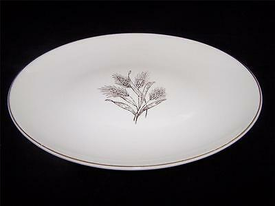 Knowles WHEAT Oval Platter X 4009 by Freda Diamond
