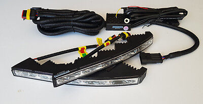 DRL Curved Daytime Running Day Lights LED Fog O1 LAMPS