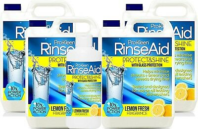 Pro Kleen Universal Dishwasher Dish Wash Rinse Aid Glass Pot Wash Cleaner