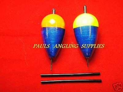 2 x TFT Pike Fishing Floats Bungs Slider  X-LARGE