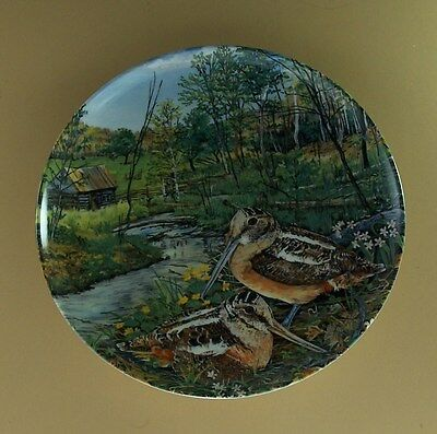 THE WOODCOCK Plate Upland Birds of North America Knowles #6 Sixth Issue +COA