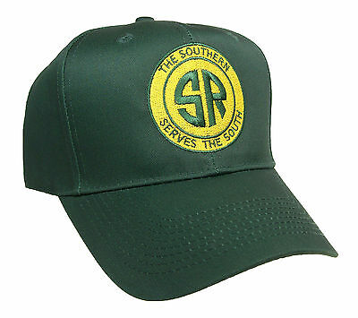 Southern Railway Railroad Embroidered Cap Hat #40-0027YG