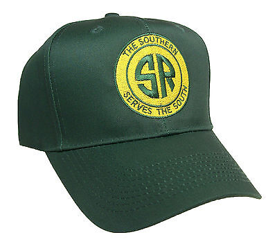 Southern Railway Serves the South Railroad Embroidered Cap Hat #40-0027YG