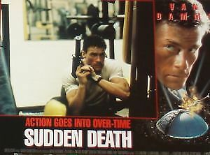 SUDDEN DEATH - 11x14 US Lobby Cards Set - Jean-Claude Van Damme