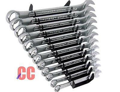 11PC metric ring spanner combination TOOL SET 6,7,8,9,10,11,12,13,14,17,19mm