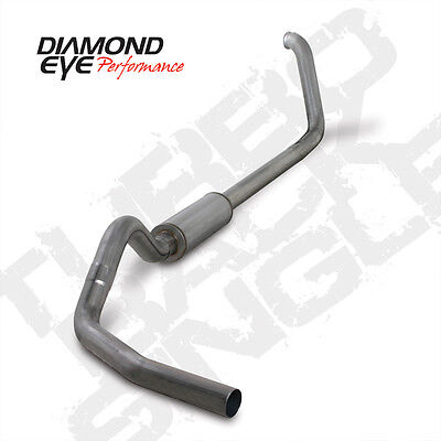 "Diamond Eye 4"" 409SS Turbo Back Exhaust System 99-03 Ford SuperDuty 7.3L Diesel"