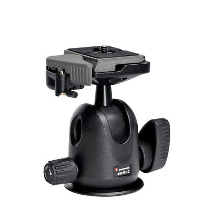 New Manfrotto 496RC2 Compact Ball Head with 1 Year Warranty