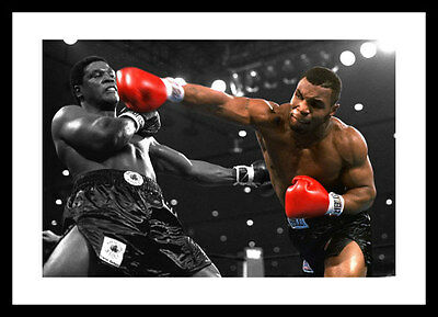 Mike Tyson 'Youngest Heavyweight Champion Spot Colour Photo (SPOT109)