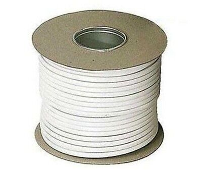 1.5mm White LSF Twin & Earth T&E Electrical Low Smoke Fume Cable Wire 100M 6242B