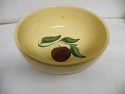 Watt Oven Ware APPLE Large Bowl # 79