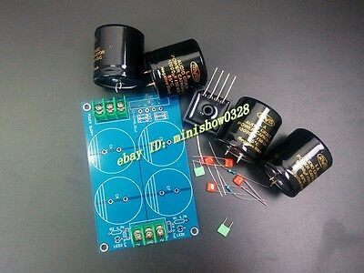 POWER SUPPLY BOARD FOR AUDIO POWER AMPLIFIER AMP DIY KIT