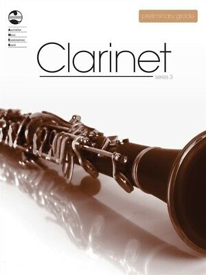 AMEB Clarinet Series 3 Preliminary Grade Book *NEW*