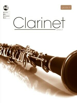 AMEB Clarinet Series 3 Grade 4 / Four / Fourth Grade Book *NEW*