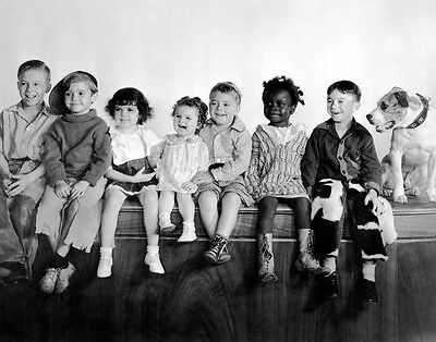 Little Rascals Our Gang Print 14 x 11/""