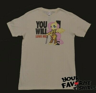 My Little Pony Mlp Fluttershy You Will Love Me Licensed Adult T Shirt