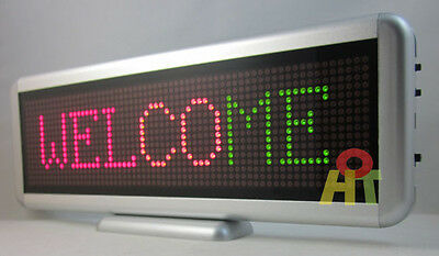 3 Colors LED Programmable Scrolling Moving Sign Message Board Display 16*64 dot