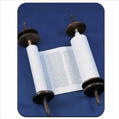 Jewish Torah Scroll Open and Ready for Reading Premium Thick Rubber Mouse Mat