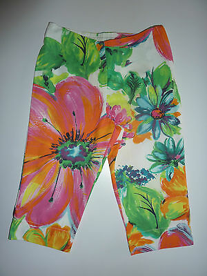 NEXT Gorgeous SUMMER Floral Trousers NWT