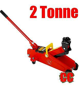 2 TON TONNE HYDRAULIC TROLLEY CAR VAN JACK GARAGE HOIST LIFTER home or DIY
