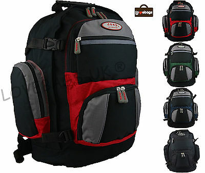 """Jeep High Quality 15"""" Laptop Backpack Bag - Travel Flight Hand Luggage Hiking"""