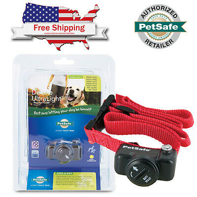 PetSafe In-Ground Deluxe Ultralight Dog Fence Collar Receiver Bundle PUL-275