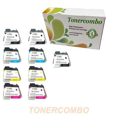Compatible ink for Brother 3BK,9CLR LC-65 12-PAK FREE SHIPPING!