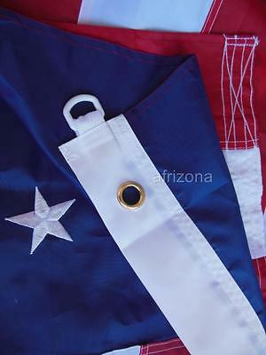 ->BEST PRICE * BEST QUALITY<- 4 American 5x8 Flags Sewn Nylon EMBROIDERED STARS