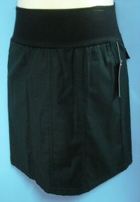 Black maternity skirt with comfort waistband size 10 NEW