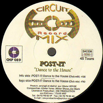POST-IT - Dance To The House - Circuit