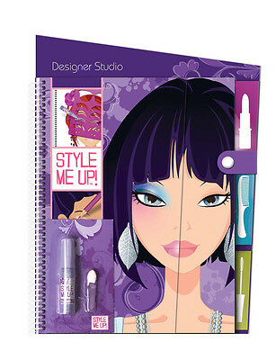 Style Me Up 623170 Zeichenblock Sketch Book (L) Hair & Make Up Frisur Schminke