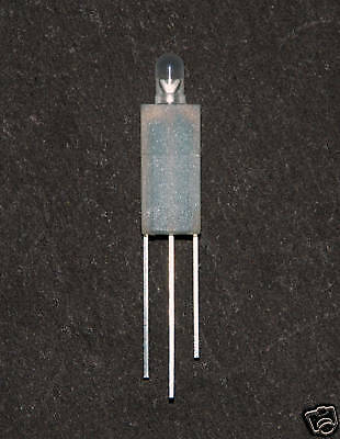 500pc LED Holder LE-13 for 3pins LED H=12.9mm KSS Taiwan