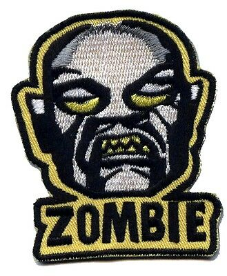 White Rob Zombie Punk horror Embroidered Iron on Patch