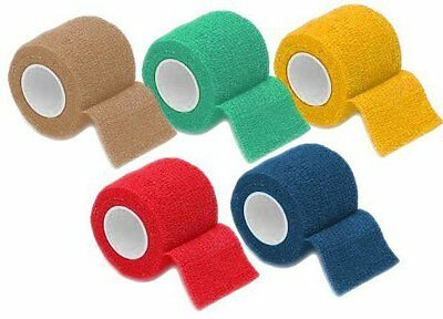 selbsthaftende flexible Bandage Haftbandage 4,5 m x 5cm selbsthaftend Tiere