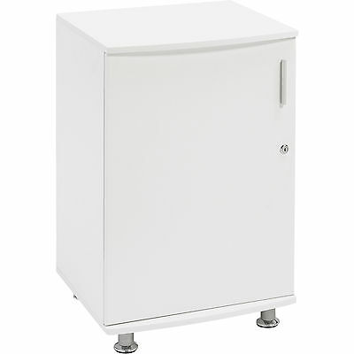 Home Office Desktop Extension Storage Cabinet with Lock - Piranha Bowfin PC 4s