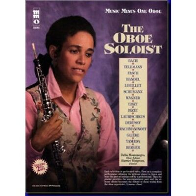 Music Minus One The Oboe Soloist: Classic Solos For Oboe Book & Cd New