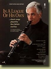 MUSIC MINUS ONE IN A LEAGUE OF HIS OWN: CLASSIC SONGS PLAYED BY ODRICH w/CD NEW