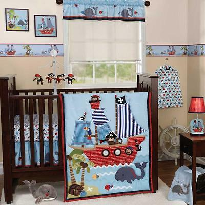 Treasure Island 3 Piece Baby Crib Bedding Set by Bedtime Originals