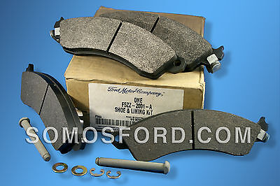 BRAND NEW OEM FRONT BRAKE PADS MUSTANG COBRA 1995-2000  #F5ZZ-2001-A