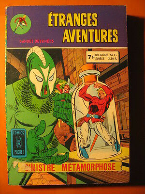Etranges Aventures Album 3225-Sinistre Métamorphose-Abominable Glo-Comics Pocket