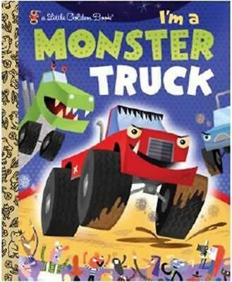 I'm a Monster Truck by Dennis Shealy (English) Hardcover Book Free Shipping!
