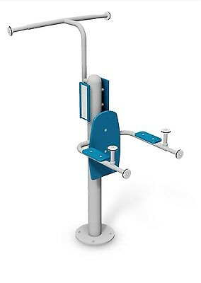 Pull Up Lift Station and Multi Grip ChinUp Bar