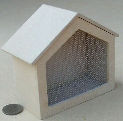 1:12 Scale Natural Finish Aviary Dolls House Miniature Garden Accessory